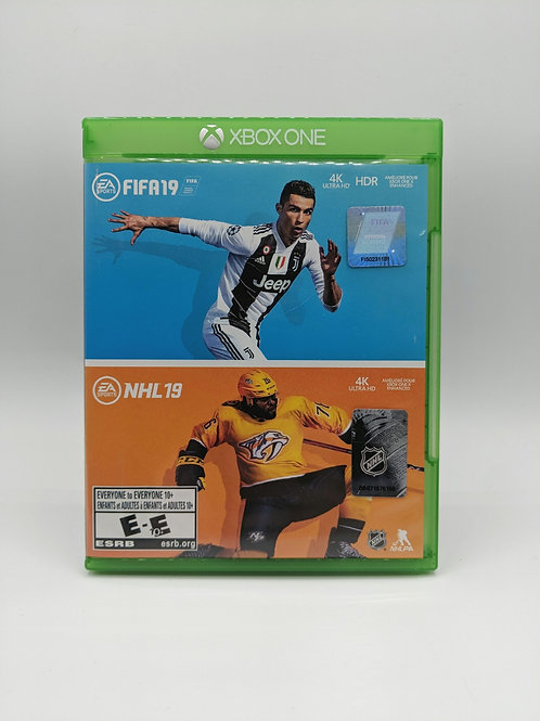 FIFA 19 / NHL 19 Double Pack - XB1