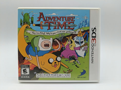 Adventure Time : Hey Ice King! Why'd You Steal Our Garbage?!! – 3DS