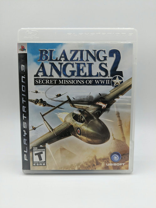 Blazing Angels 2 : Secret Missions of WWII – PS3