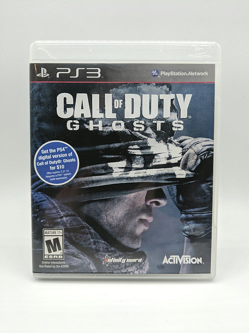Call of Duty Ghosts – PS3