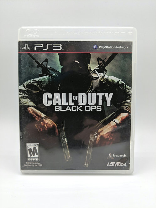 Call of Duty Black Ops – PS3