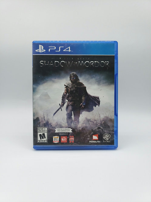 Middle Earth : Shadow of War - PS4