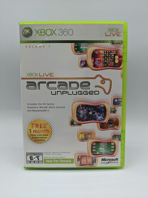 Live Arcade Unplugged – 360