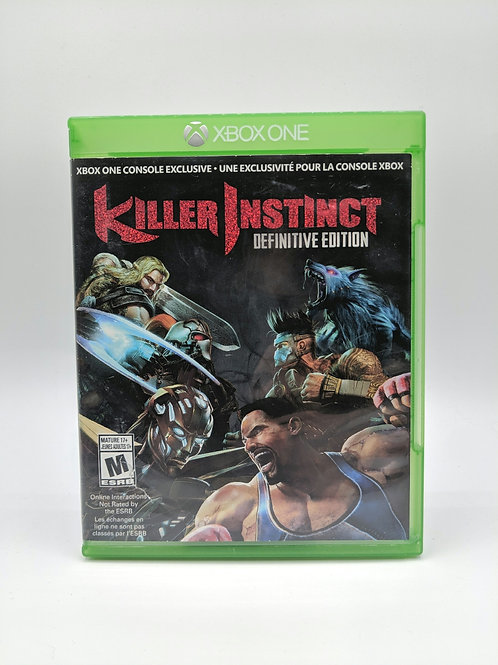 Killer Instinct Definitive Edition - XB1