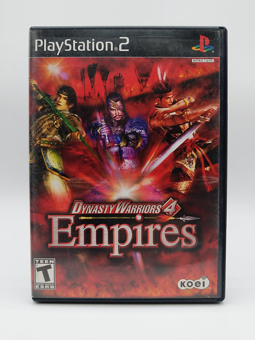 Dynasty Warriors 4 Empires – PS2