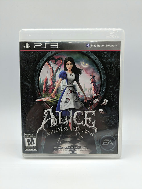 Alice Madness Returns – PS3