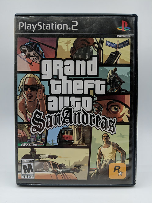 Grand Theft Auto: San Andreas – PS2