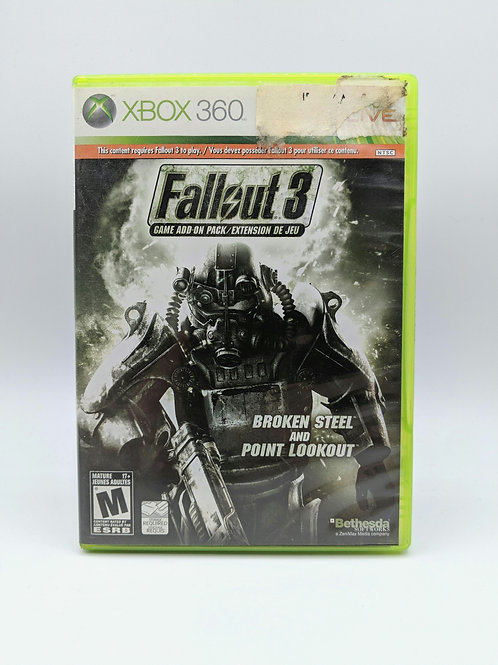Fallout 3 Broken Steel / Point Lookout – 360