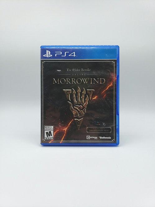 Elder Scrolls Online : Morrowind  - PS4