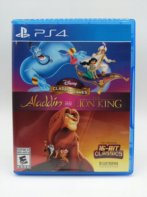 Disney Classic Games Aladdin and The Lion King - PS4