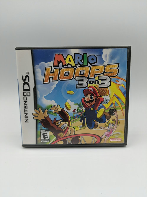 Mario Hoops 3 on 3 – DS