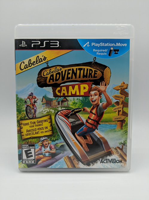 Cabela's Adventure Camp – PS3