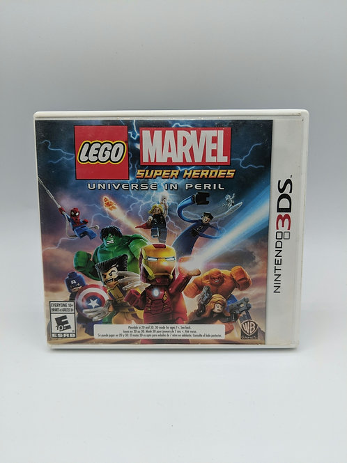 LEGO Marvel Super Heroes : Universe in Peril – 3DS