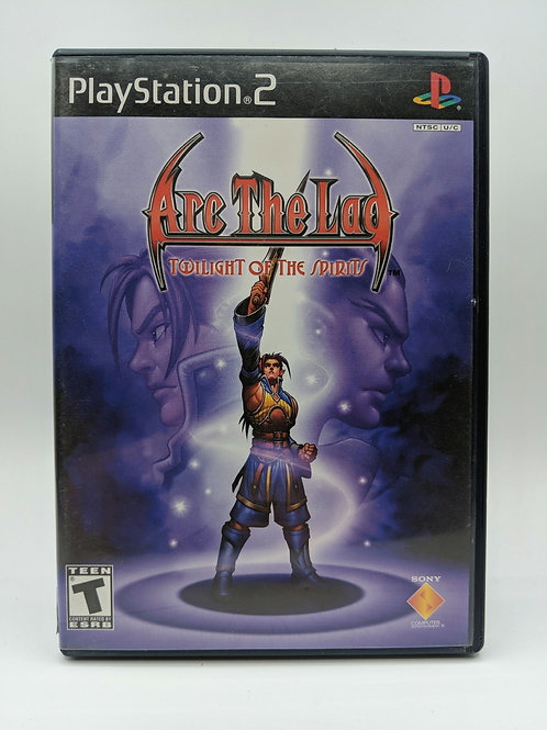 Arc The Lad : Twilight Of The Spirits – PS2