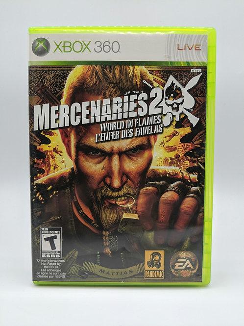 Mercenaries 2 : World in Flames – 360