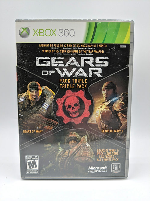 Gears of War : Triple Pack – 360