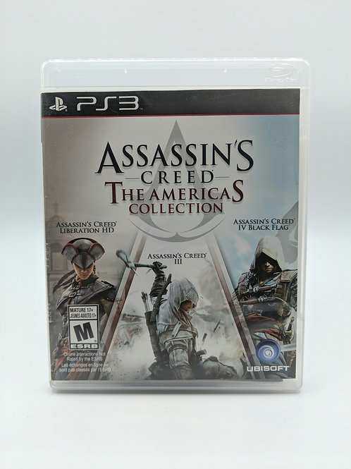 Assassin's Creed The Americas Collection – PS3