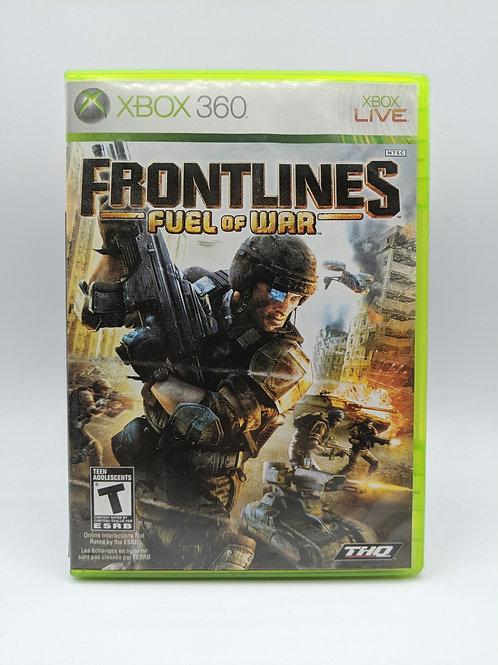 Frontlines Fuel of War – 360