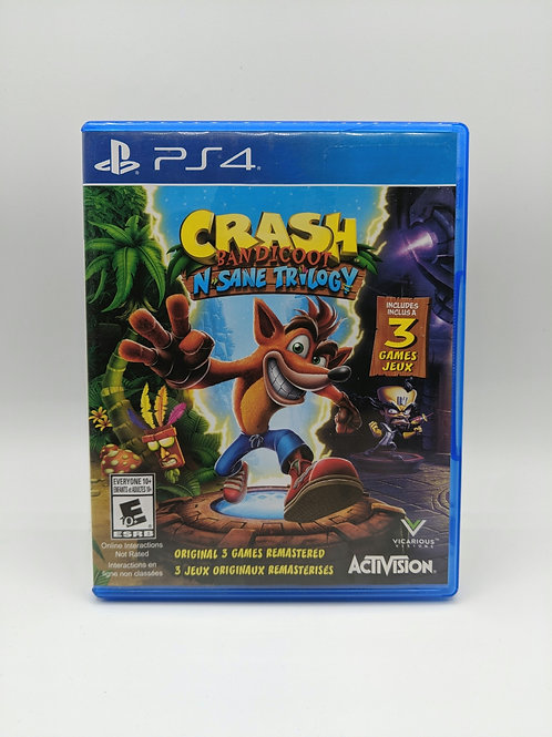 Crash Bandicoot N Sane Trilogy – PS4
