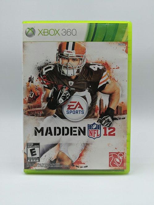 Madden NFL 12 – 360