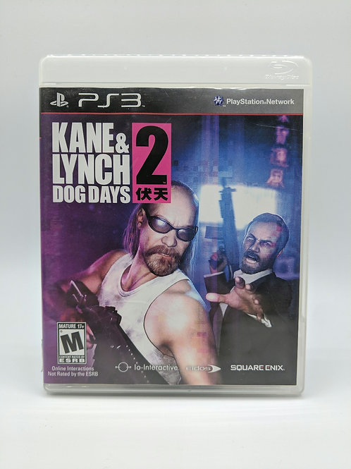 Kane and Lynch 2 Dog Days – PS3
