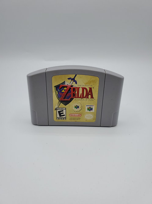 Legend of Zelda Ocarina of Time – N64