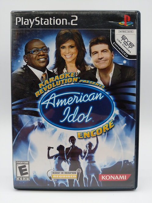 Karaoke Revolution Presents : American Idol Encore – PS2