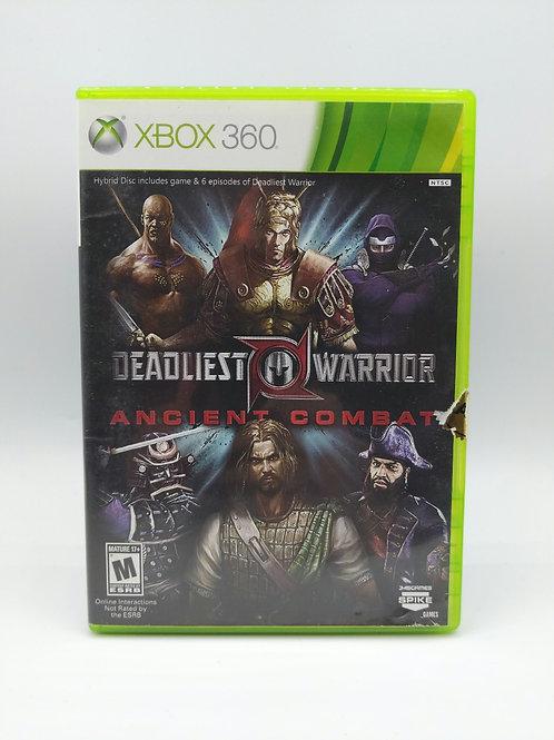 Deadliest Warrior: Ancient Combat – 360