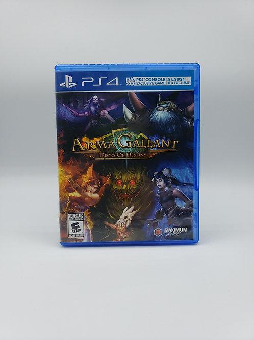Arma Gallant : Decks of Destiny - PS4