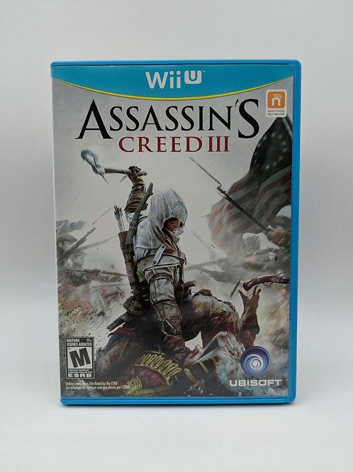 Assassin's Creed III – WiiU
