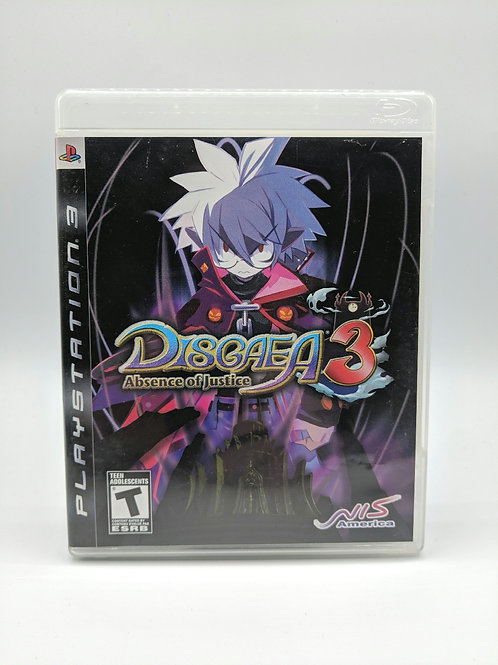 Disgaea 3 Absence of Justice – PS3