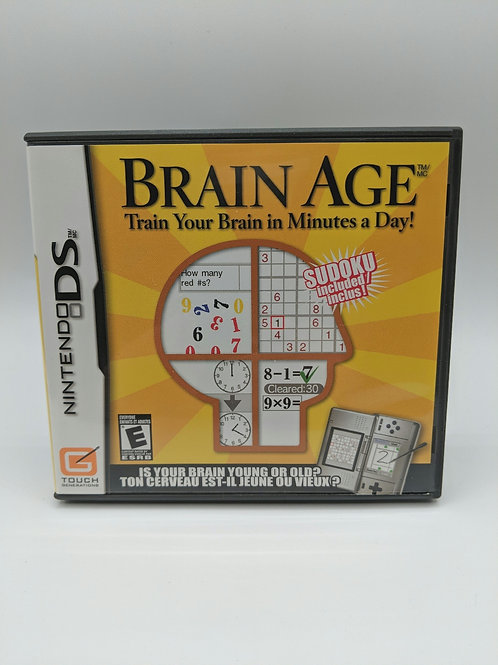 Brain Age : Train Your Brain - DS