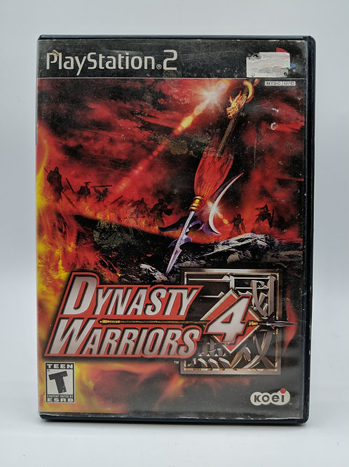 Dynasty Warriors 4 – PS2