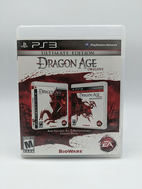 Dragon Age Origins Ultimate Edition – PS3