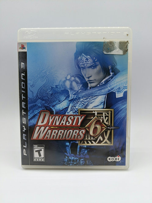 Dynasty Warriors 6 – PS3