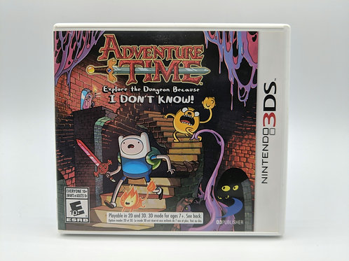 Adventure Time : Explore The Dungeon Because I Don't Know! - 3DS