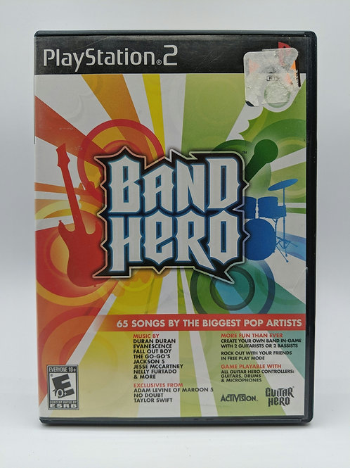 Band Hero – PS2