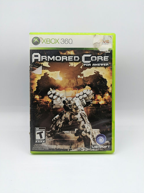 Armored Core : For Answer – 360