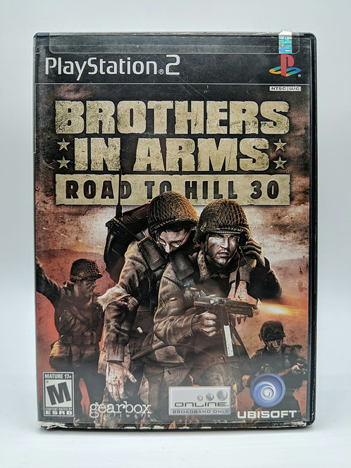 Brothers in Arms : Road to Hill 30 – PS2