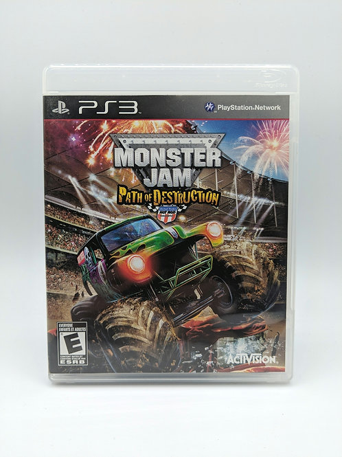 Monster Jam Path of Destruction – PS3