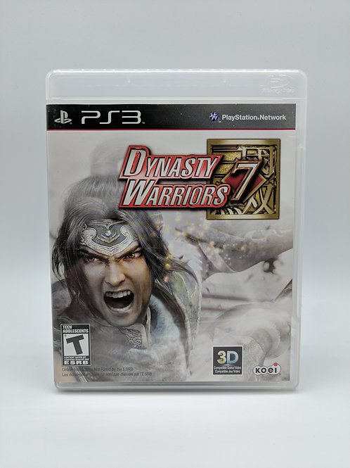 Dynasty Warriors 7 – PS3