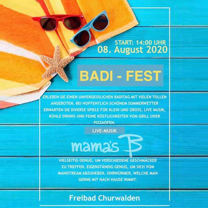 Badi Fest - Freibad Churwalden