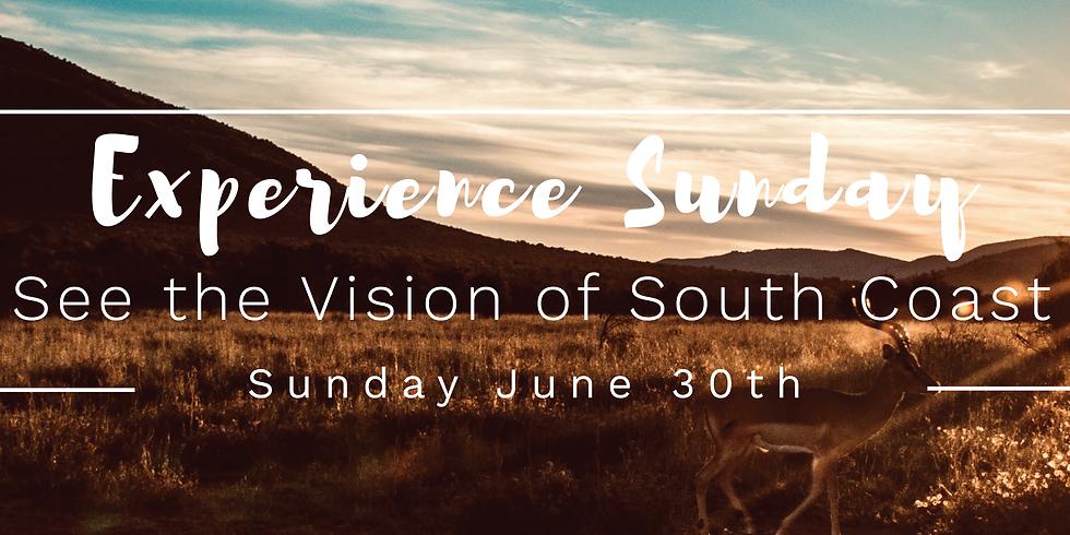 Experience Sunday - Baptism