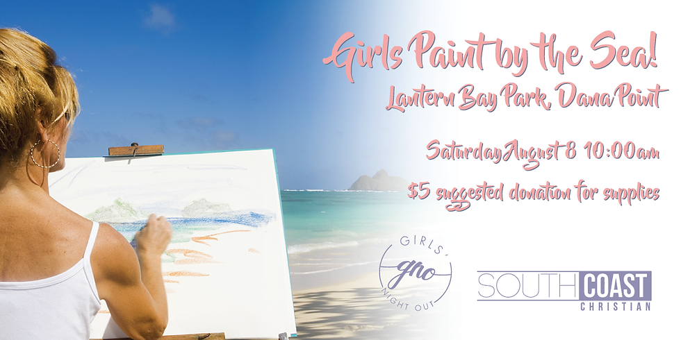 """GNO """"Girls Paint by the Sea"""""""