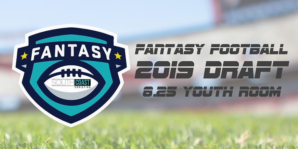 SCC Fantasy Football Draft Party