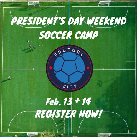 President's Day Weekend Soccer Camp