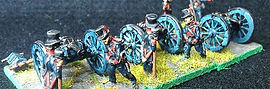 royalist artillery 15mm fantassin