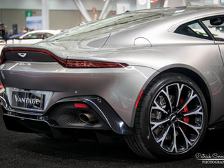 2019 Aston Martin Vantage debuts at the New England Auto Show.