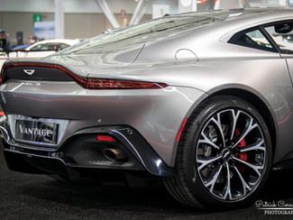 2019 Aston Martin Vantage debuts at the New England Auto Show.