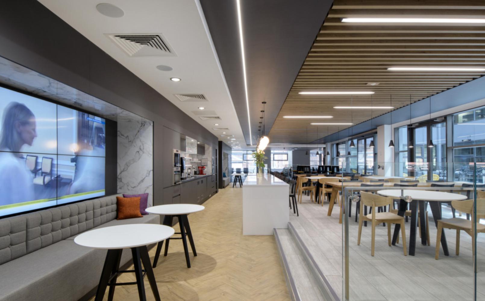 Aménagement d'un espace cafétéria